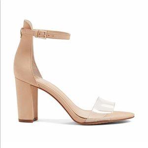 NEW Vince Camuto Corlina Ankle Strap Sandal Beige